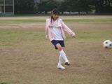 新CMでサッカーにチャレンジする川口春奈