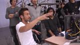 CM初プロデュースに力が入る中田英寿氏(エステティックTBC『スマイル・サークル』編)