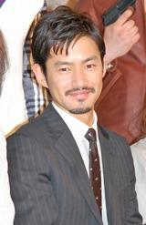 新ドラマ『BOSS』の制作発表会見に出席した竹野内豊