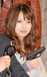 新ドラマ『BOSS』の制作発表会見に出席した戸田恵梨香
