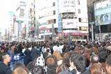 浜崎の登場で渋谷はパニック状態に