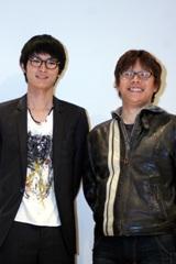 高良健吾(左)と三木孝浩監督/4月8日撮影