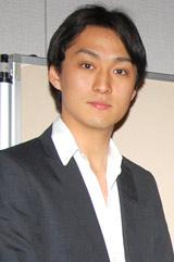 新ドラマ『臨場』の記者会見に出席した渡辺大