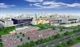 6月25日にオープンする、『三井ショッピングパーク ららぽーと磐田』の完成予想図