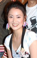 テレビ番組『嗚呼!芸能界野球つく部 〜野球LOVEだよ、人生は。〜』の発表会に出席した北川弘美