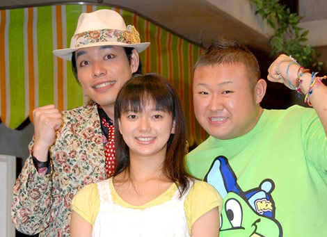 NHK連続テレビ小説『つばさ』出演した麒麟・川島