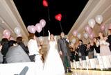 結婚式の模様