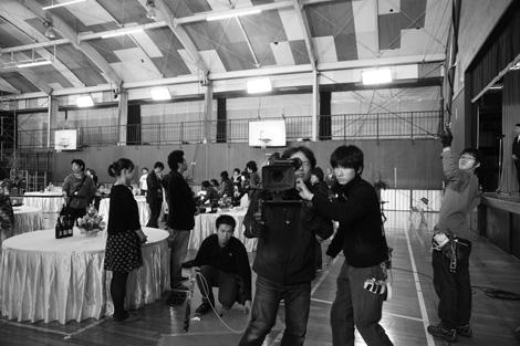 岡田准一が撮影した『おと・な・り』撮影現場