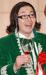 髭男爵・ひぐち君(C)ORICON DD inc. 【展覧会『のだめ カンタービレ♪ワールド』開会式にて】