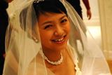 映画『余命1ヶ月の花嫁』撮影現場での榮倉奈々 Photo by EITA