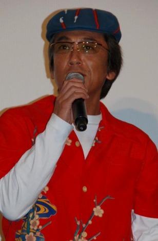 寺島進(C)ORICON DD inc.【映画『GOEMON』の初日舞台あいさつにて】