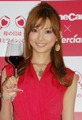「AneCan Wine Party With mom」に出席し押切もえ(C)ORICON DD inc.