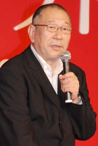 映画『カムイ外伝』製作報告会見に出席した崔洋一監督(C)ORICON DD inc.