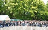 「本日は忌野清志郎青山ロックンロールショーにお越しいただき、ありがとうございます」とのアナウンスが流れ駆けつけたファンを喜ばせた。(C)ORICON DD inc.