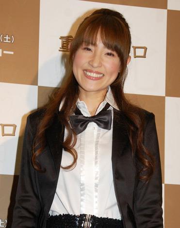 映画『重力ピエロ』の試写会イベントにゲストとして出席した大沢あかね (C)ORICON DD inc.