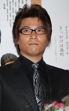 映画『弁天通りの人々』舞台挨拶に登壇した水元秀二郎(C)ORICON DD inc.