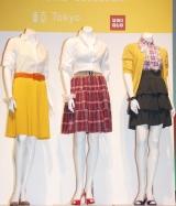 ユニクロの「ガールズコレクション」第3弾、2009年春夏の『サマースカート』(C)ORICON DD inc.