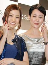 (左から)上戸彩と樋口可南子(C)ORICON DD inc.