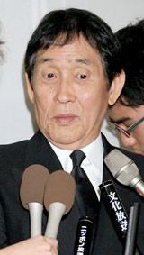 故・三木たかしさんの告別式に参列した萩本欽一 (C)ORICON DD inc.