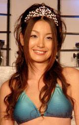 2007年三愛水着イメージガールに選ばれた木下優樹菜 (C)ORICON DD inc.