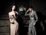 CDデビューを果たす春野寿美礼。写真の男性、女性ともに春野が演じたもの。