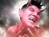 """「シック」新CMで特殊メイクで""""赤鬼""""に変身した松田翔太"""