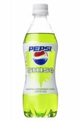 サントリー食品が6月23日に発売する、しそ味のコーラ飲料『ペプシしそ』