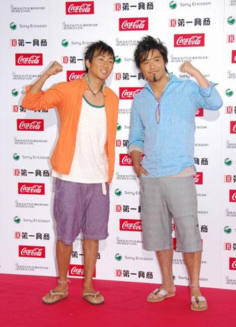 『MTV VIDEO MUSIC AWARDS JAPAN 2009』に出席したキマグレン(C)ORICON DD inc.
