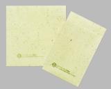 伊藤園の緑茶飲料で排出される茶殻を利用した『お茶殻入り紙ナプキン』
