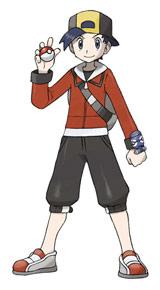 主人公(男) (c)2009 Pokemon. (c)1995-2009 Nintendo/Creatures Inc./GAME FREAK inc.