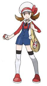 主人公(女) (c)2009 Pokemon. (c)1995-2009 Nintendo/Creatures Inc./GAME FREAK inc.