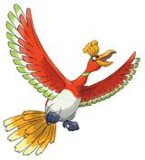 ホウオウ (c)2009 Pokemon. (c)1995-2009 Nintendo/Creatures Inc./GAME FREAK inc.