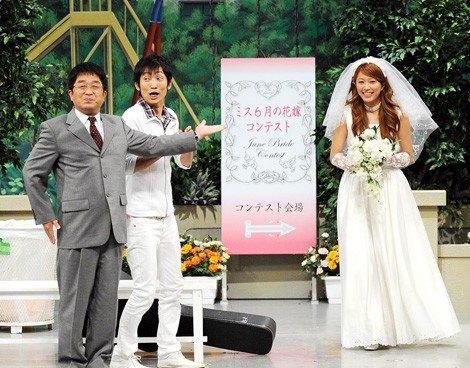 サムネイル NGK初舞台で花嫁姿を披露した里田まい