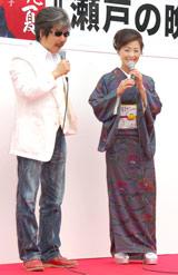 新曲「瀬戸の晩夏」発売記念イベントで作詞・作曲を務めた花岡優平氏とのトークの模様 (C)ORICON DD inc.