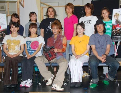 ミュージカル『EVIL DEAD THE MUSICAL 〜死霊のはらわた〜』の出演者たち(C)ORICON DD inc.