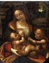 """レオナルド・ダ・ヴィンチが残したとされる「ラロックの聖母」(C)Association""""Les Amis de la Madone""""/フジテレビジョン"""