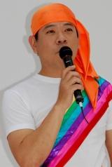 新ユニット「南明奈のスーパーマイルドセブン/里田まい with 合田家族」の新曲発売イベントに出席したFUJIWARA・原西孝幸 (C)ORICON DD inc.