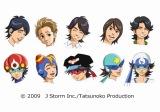 「Believe」の音楽ビデオでは嵐がアニメ『タイムボカン』シリーズのヒーローに変身している