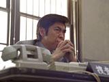 ゆうたろうが故・石原裕次郎さんを演じる『ボス』新CMの1カット
