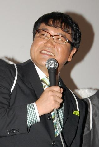 映画『守護天使』初日舞台あいさつに登壇したカンニング竹山 (C)ORICON DD inc.