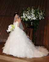 純白のウエディングドレスに身を包んだ川島(C)ORICON DD inc.