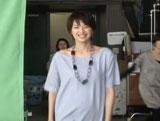 吉瀬美智子が出演している『DANONE BODY-ism CALCIUM WORKS』新CMメイキングカット