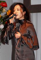 贈呈式で歌を披露した平原綾香 (C)ORICON DD inc.