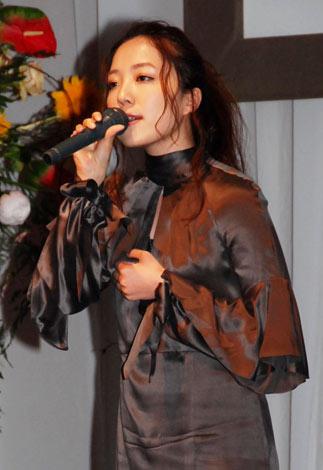 『第35回放送文化基金賞』贈呈式で歌を披露した平原綾香 (C)ORICON DD inc.