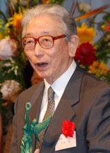 『第35回放送文化基金賞』贈呈式に登壇した久米明 (C)ORICON DD inc.