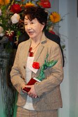『第35回放送文化基金賞』贈呈式に出席した渡辺美佐子 (C)ORICON DD inc.