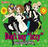 """上半期シングルランキング16位の「Don't say""""lazy""""」【初回盤】"""