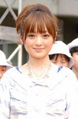 映画『ノウイング』のタイムカプセル埋蔵記念式典イベントに出席した安達祐実 (C)ORICON DD inc.