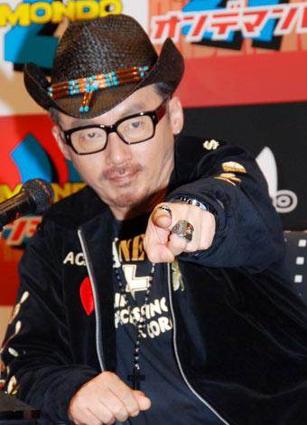 「ニコニコ動画生放送!MONDO21 Presents 田代まさし生記者会見」に登場した田代まさし (C)ORICON DD inc.