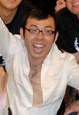 左手薬指に指輪を光らせたジョイマン・高木 (C)ORICON DD inc.